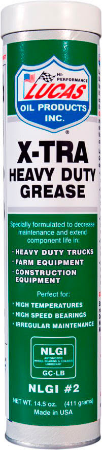 """LUCAS OIL"" GREASE X-TRA HEAVY DUTY GREASE 454gr."