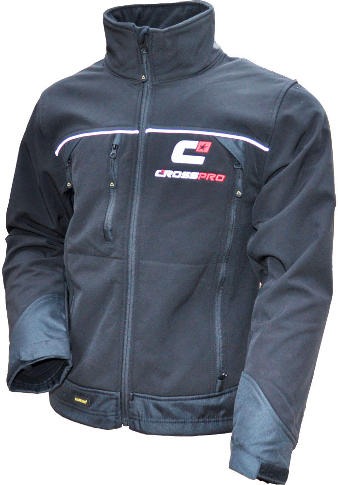 Casaco CrossPro Soft Shell (XL) Preto