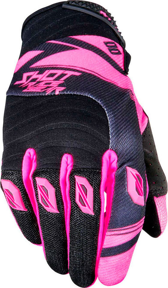Luva CONTACT CLAW Rosa neon XL