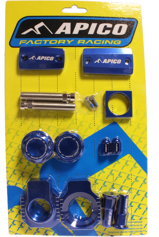 FACTORY BLING PACK HUSQVARNA TX125 18-20, TE/FE/TPI 150-501 18-20  (MAGURA BRAKE) BLUE (R)