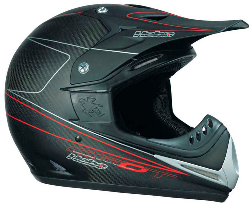 Capacete Cross HSX-04 (S Carbono)