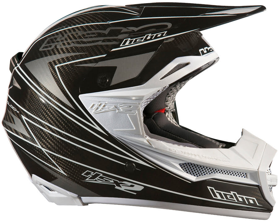 CAPACETE ENDURO-CROSS HSX-2 CARBONO NEW