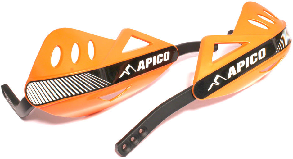 APICO ENDURO HANDGUARD WITH FULL WRAP AROUND ALUMINIUM FRAME ORANGE