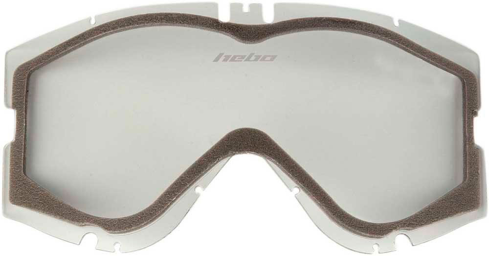 Lente de oculos Hebo HIGH-V & MEDIUM-V Dupla Transparente