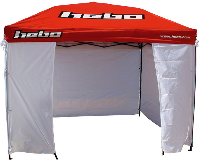 TENDA HEBO 3mx3m PADDOCK RC TEAM 08