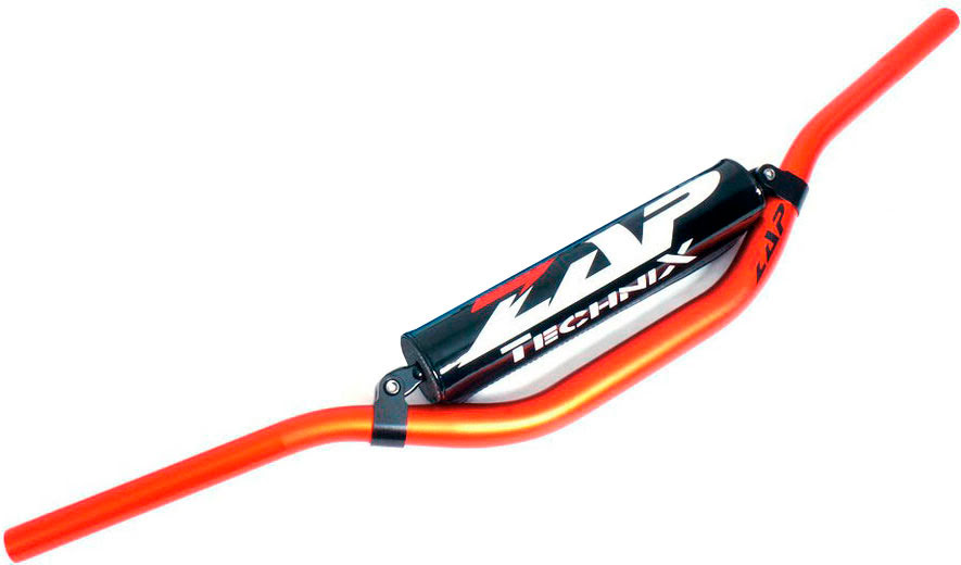 GUIADOR ZAP FMX BLACK EDITION LARANJA 28.6mm (Alto)